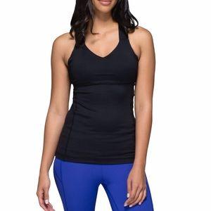 Lululemon Push Your Limits Black Workout Tank Top